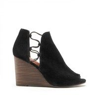 Lucky Brand Reevas Peep Toe Wedge