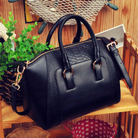 Hot Ladies Shoulder Bag Faux Leather Satchel Cross Body Tote Women Handbag