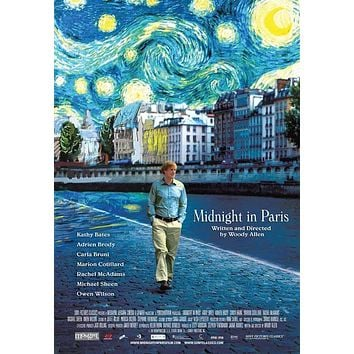 Midnight in Paris 27x40 Movie Poster (2011)