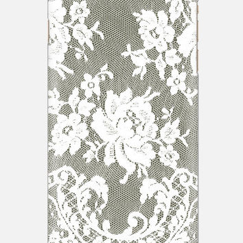 Dark grey/lace iPhone 6 tough case, Lace iPhone 5 case, Phone 5c case, lace cell case, cellcasebythatsnancy