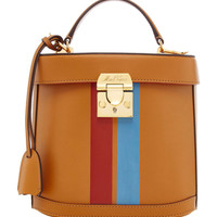 Benchley Striped Leather Bag | Moda Operandi