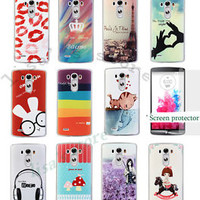 Cell  Phone Case Cover  For LG G3  + Screen Protector