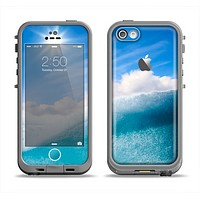 The Sunny Day Waves Apple iPhone 5c LifeProof Fre Case Skin Set