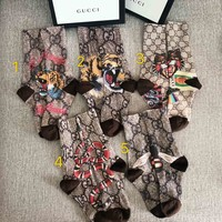 Gucci Tiger head socks