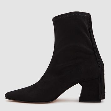 Rachel Comey / Zaha Fringed Ankle Boot in Black