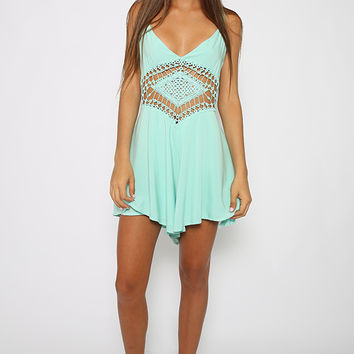 Freebird Playsuit - Green
