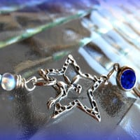 Fairy Star Belly Ring, Fantasy, Hipster, Ready to Ship, Direct checkout