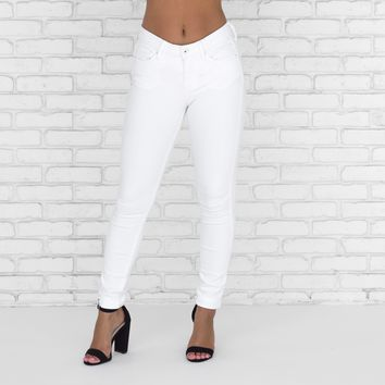 Ricci White Skinny Denim Pants