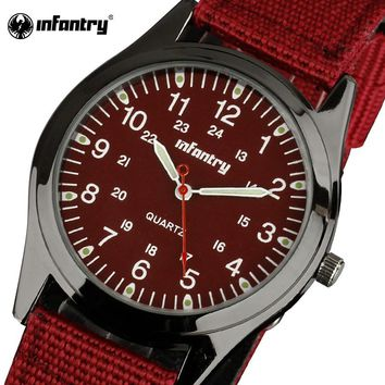 Luxury Red Watches Ultra Thin strap watch