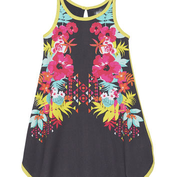 Tropical Punch Printed Dress
