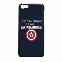 Captain America Forget Prince Charming iPhone 5c Case