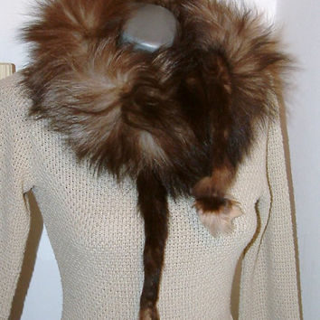 https://www.etsy.com/listing/206731776/vintage-fox-fur-scarfbrown-color-vintage
