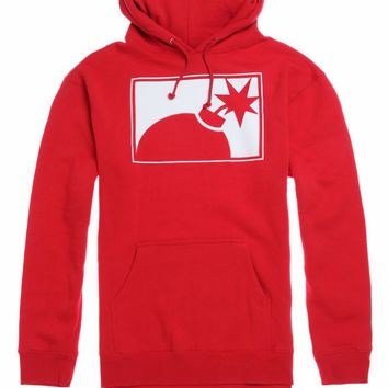 The Hundreds Forever Half Bomb Hoodie - Mens Hoodie - Red