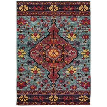 Area Rug by Oriental Weavers Bohemian Collection 8222L