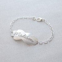 Engraved Madison Name Bracelet