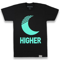 New Moon Tee in Black