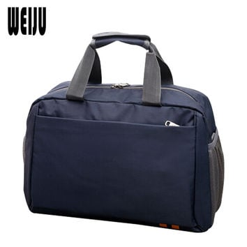 WEIJU 2017 Men Travel Bags New Casual Women Travel Bag Portable Women's Hand Weekend Bag Large Capacity Traveling Bags