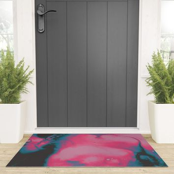 Disco Candy Welcome Mat by duckyb