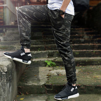 mens joggers camouflage sport men pants military jogger pants chinos men sweatpants hip hop joggers streetwear camo cargo pants