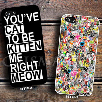 you ve cat to be kitten & Sticker Bomb Artwork