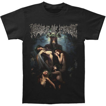 Cradle Of Filth Men's  Hammer Of The Witches T-shirt Black Rockabilia