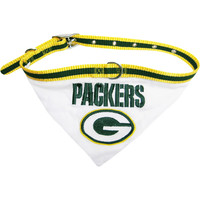 Green Bay Packers NFL Licensed Bandana Dog Collar