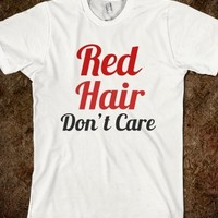 Supermarket: Red Hair Don't Care from Glamfoxx Shirts