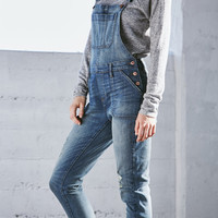 Bullhead Denim Co. Dairy Blue Ripped Utility Overalls at PacSun.com