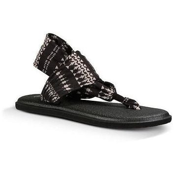 SANUK YOGA SLING 2 PRINTS - Women's Sandals Natural KOA Tribal