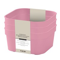 Pink Square Divider Trays By Recollections™