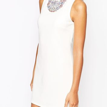 New Look Embellished Detail Shift Dress