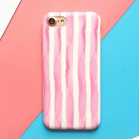 High-quality Nanometer Protect Original Pink Strape for iPhone 7 7Plus & iPhone 6 6s Plus & iPhone 5s se Case +Gift Box-E04