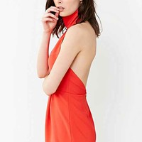 Finders Keepers Limitlesss Romper- Red