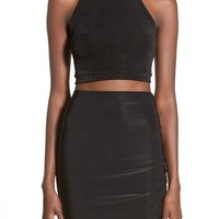 Missguided Strappy Crop Top | Nordstrom