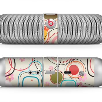 The Open Vintage Vector Swirls Skin for the Beats by Dre Pill Bluetooth Speaker