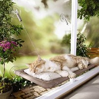 Window-Mounted Sucker Hammock Pet Cat Bed