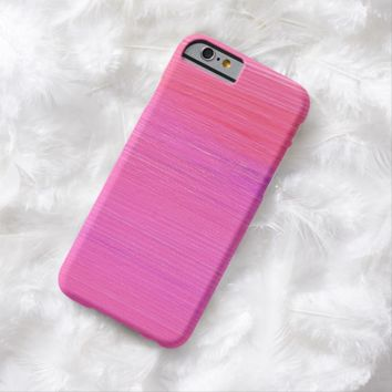 Claire Blossom Pink&Purple Barely There iPhone 6 Case
