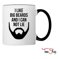 I Like Big Beards Coffee & Tea Mug