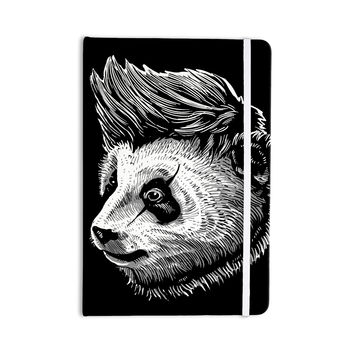 "BarmalisiRTB ""Funky Panda"" Black White Everything Notebook"