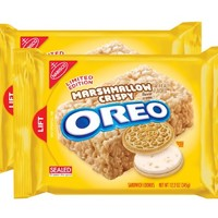 Oreo Cookie Marshmallow Crispy Flavor 10.7 Oz. (303g) Limited Edition (2 Pack)