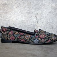 Appleseed's Floral Print Loafer : Size 8