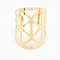 Triangle Bangle Cuff Bracelet