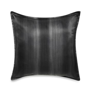 Velvet Square Toss Pillow in Black