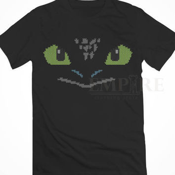 ugly toothless sweater christmas Unisex/Men Tshirt All Size