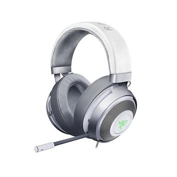 Razer Kraken 7.1 V2 Mercury Edition - Noise Isolating Surround Sound Digital Gaming Over-Ear RGB Headset With Mic - Oval Ear Cushions - Newegg.com