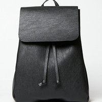 LA Hearts Faux Leather Mini Rucksack Backpack at PacSun.com