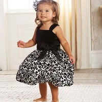 Mud Pie Clothing-  Mud Pie Damask Party Dress  - Find|Buy|Shop|Compare|LollipopMoon.com only $37.95 - New Items