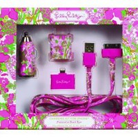 Lilly Pulitzer Charger Kit: Beach Rose