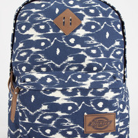 Dickies Ikat Canvas Backpack Blue Combo One Size For Women 26663524901