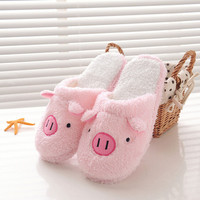 Best Deal New Good Qulaity Women Ladies Home Floor Soft Lovely Pig Home Floor Soft Slippers Female Shoes Gift 1Pair